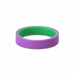 Flip Bangle (Teen / Adult) - 'Mutant' - Purple/Green